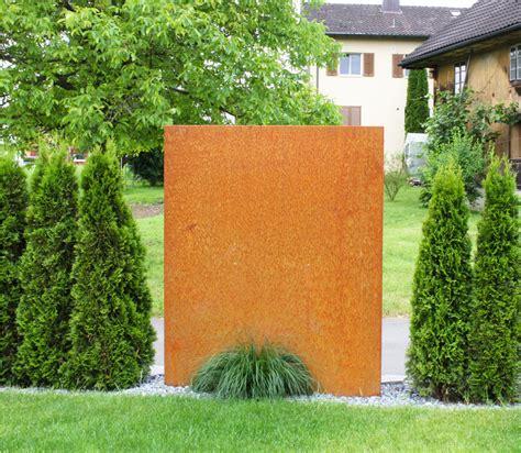 Sichtschutz Garten Metall Rost Hornbach by Sichtschutz Metall Rost Unique Sichtschutz Holz
