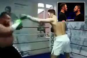 Tyson Fury's cousin Hughie spars World's Strongest Man ...