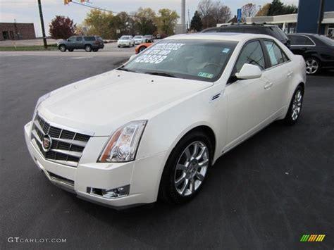 2008 Cadillac Cts Awd by White Tri Coat 2008 Cadillac Cts 4 Awd Sedan