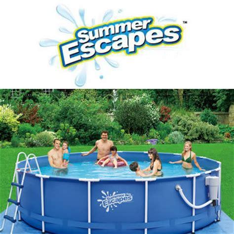 summer escapes pools pool spa brandsonsalecom