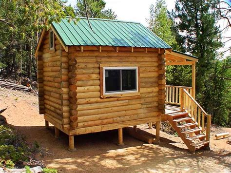 Small Log Cabin Floor Plans Small Log Cabin Kits, Simple