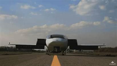 Flying Lilium Jet Aircraft Vtol Electric Airplane