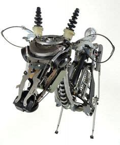 Awesome Typewriter Assemblage Sculptures by Awesome Typewriter Assemblage Sculptures Miscelaneo