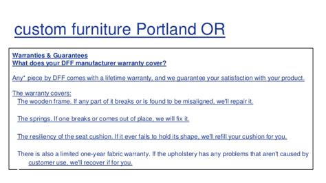 furniture portland or custom sofas portland or custom