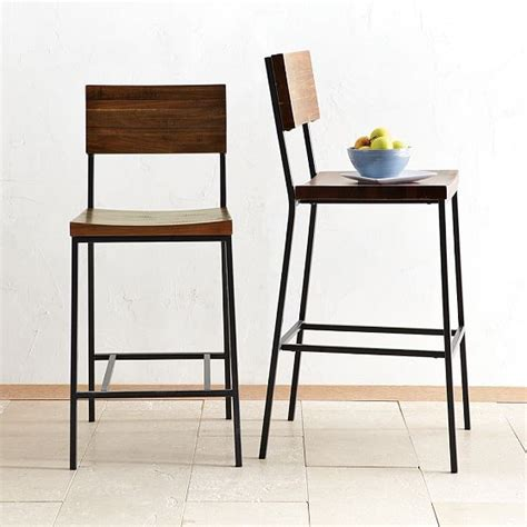rustic bar stool counter stool modern bar stools and
