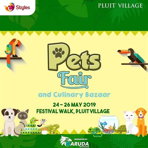pets fair culinary bazaar  jadwal event info