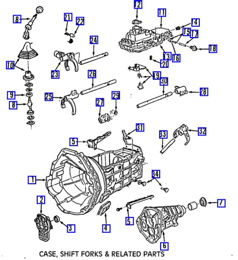 1998 Ford F150 Automatic Transmission Diagram by Manual Transmission For A 97 F 150 Is Stuck In Third Gear