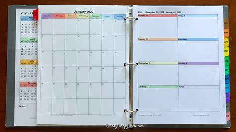 diy calendar planner printables