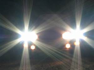 Say No To High Beam Lights