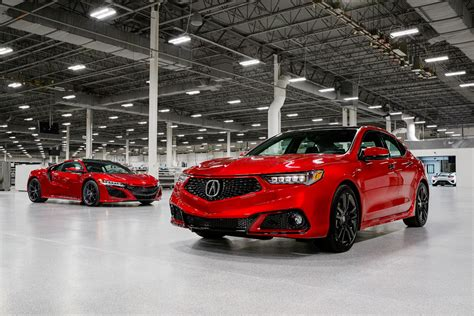 acura launches handcrafted pmc edition models