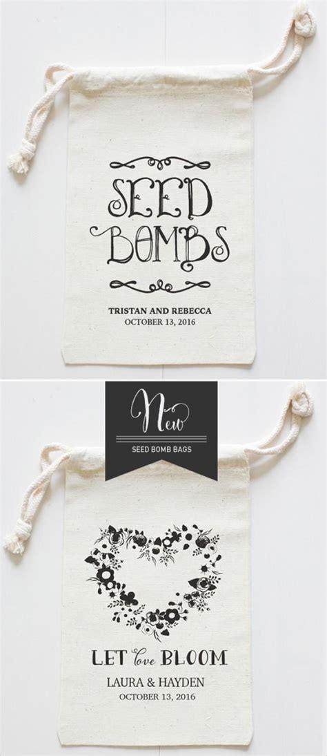 diy seed bomb wedding favor weddbook