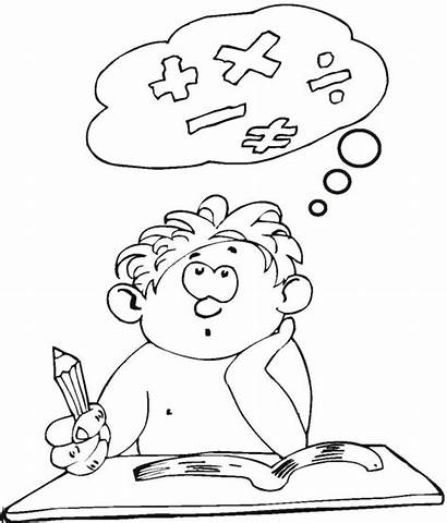 Coloring Pages Student Educational Education Colouring Colorir
