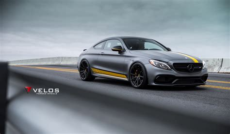 mercedes amg cs edition  coupe  velos  forged