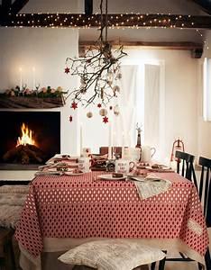 Decoration De Noel Table : une d coration de table de no l aux couleurs des f tes de ~ Melissatoandfro.com Idées de Décoration
