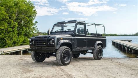 land rover defender convertible 1991 land rover defender 110 convertible