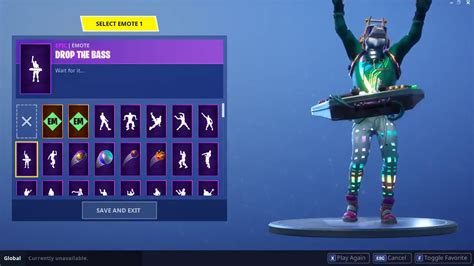 Dj Yonder Skin With Drop The Bass Emote / Fortnite Battle