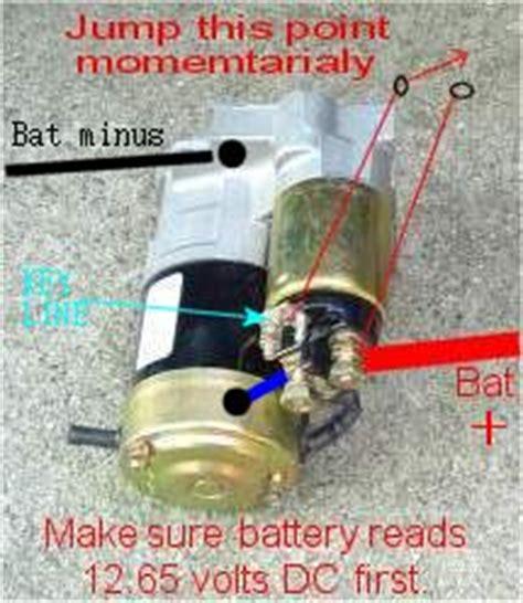 solved   replace starter solenoid suzuki  sx