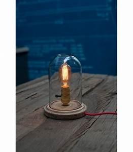 Lampe Ampoule Filament : lampe poser globe verre pour ampoule a filament edison ~ Teatrodelosmanantiales.com Idées de Décoration