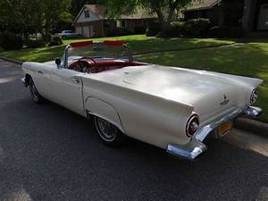 Buy Used 1957 Ford Thunderbird Hardtop Convertible 3 Speed