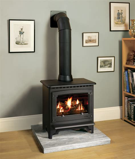 Electric Log Fireplace Heater by Po 234 Les 224 Gaz Marlborough Stovax Amp Gazco