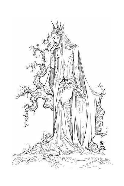 Thranduil Hobbit Legolas Earth Lord Pace Lee