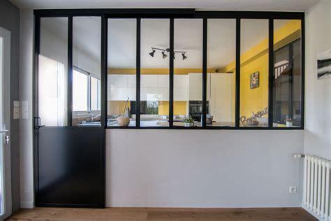 cloison amovible cuisine cloison vitre cuisine astuces dco pour optimiser une