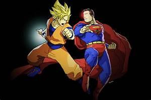 Goku vs. Superman by TOKYO51zombie on DeviantArt