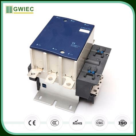 gwiec quality products electric 3 pole new types of ac magnetic contactor lc1 f150 buy