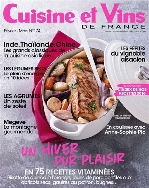 cuisine et vins de magazine cuisine et vins de digital magazine