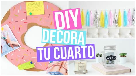 decorar tu cuarto diy diy decoraci 211 n para tu cuarto youtube