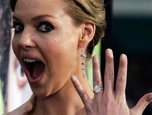 omg he said what my boyfriend may be an idiot but i With katherine heigl wedding ring