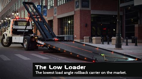 self loader truck detroit wrecker sales home of the low loader and the
