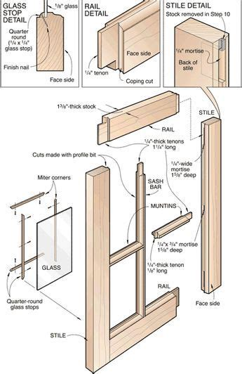 sash windows technical drawings images