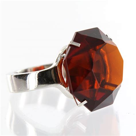 Giant Amber Glass Diamond Ring W Silver Band  Napkin. $800 Engagement Rings. Connected Rings. Engagment Wedding Rings. Two Toned Wedding Wedding Rings. Old Engagement Rings. Marquee Wedding Rings. Special Engagement Rings. Daughter Engagement Rings