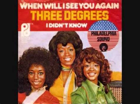 """The Three Degrees """"when Will I See You Again?"""" (with"""