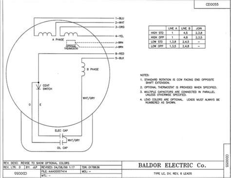 standard electric fan motor wiring diagram image