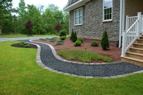 gravel sidewalk ideas home exterior ideas januari 2015