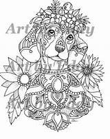 Dachshunds Doodles Catcher Lovethebreed sketch template