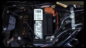 Install Winterize Harley Davidson Supersmart Battery
