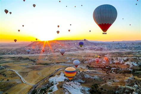 Cappadocia - Turkey - Fairy Chimneys & Hot Air Balloons ...