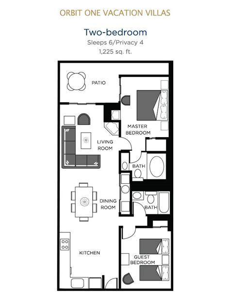 2 Bedroom Villas In Orlando by Orbit One Vacation Villas Orlando 2 Bedroom Villa