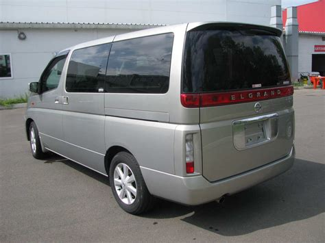 Nissan Elgrand Photo by 2003 Nissan Elgrand Photos 3 5 Gasoline Fr Or Rr