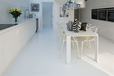 white resin comfort floor highbury london