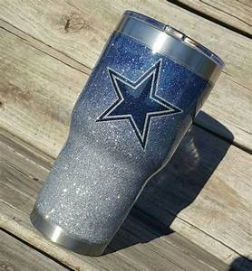 dallas cowboys glitter yeti rtic cup tumbler stainless With kitchen colors with white cabinets with yeti cooler sticker kit