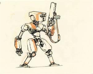 Concept robot sketches by Jake Parker | Mecha | Pinterest ...