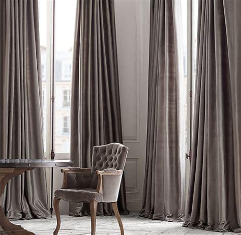 Silk Drapery - thai silk tonal stripe drapery