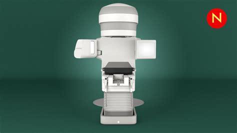Varian TrueBeam Radiotherapy 3D Model MAX OBJ FBX MTL ...