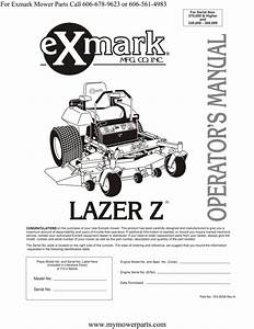 Exmark Mower Wiring Diagram
