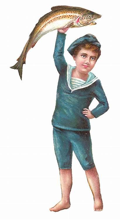 Boy Clipart Sailor Victorian Clip Child Enough