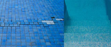 tipos de union del gresite revestimientos piscinas
